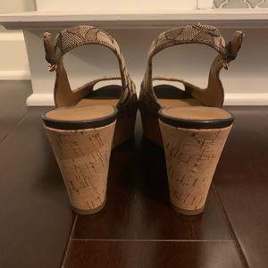 Coach Shoes - Coach Wedges 8.5/Excellent condition